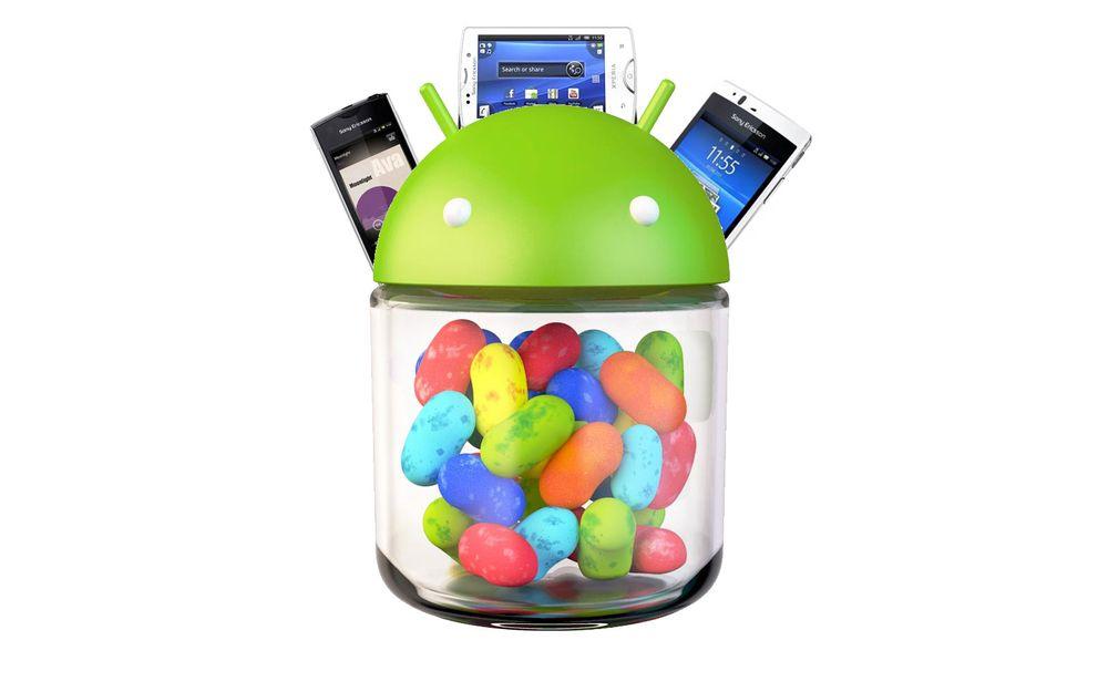 Sony skal oppgradere til Jelly Bean