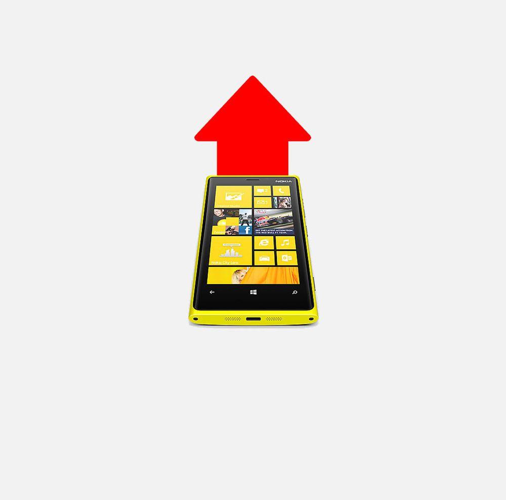 Pilene peker opp fra Nokias avgrunn