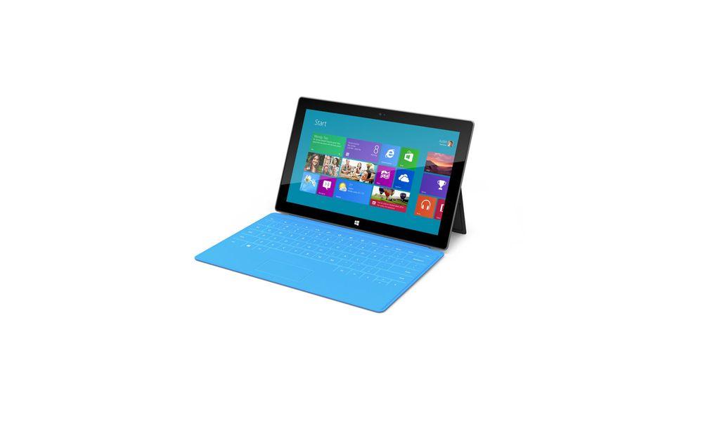 Slik er Microsoft Surface RT