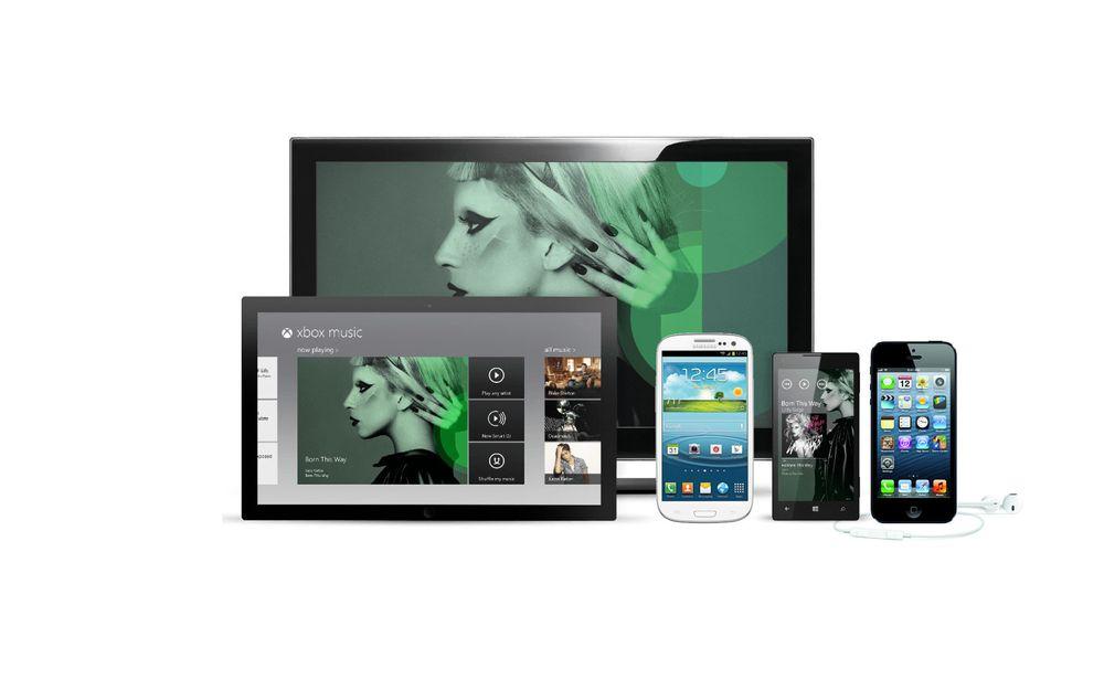 Xbox Music kommer til Android og iOS