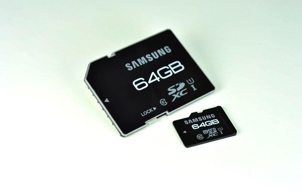 Samsungs 64 GB minnekort snart i salg