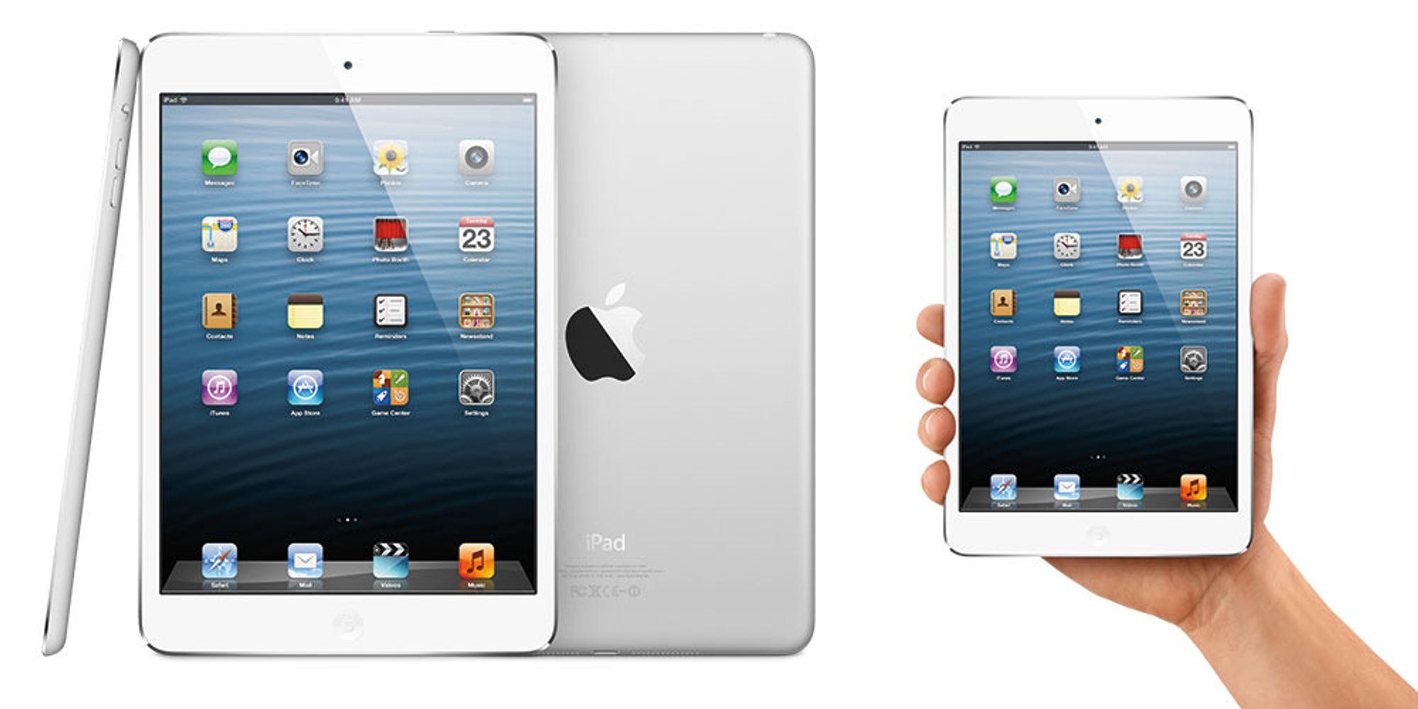 iPad Mini kan komme denne uken