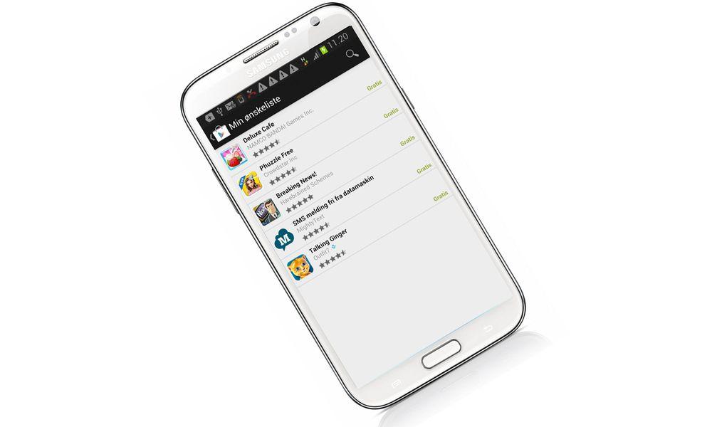 Nå kan du lage ønskelister i Google Play