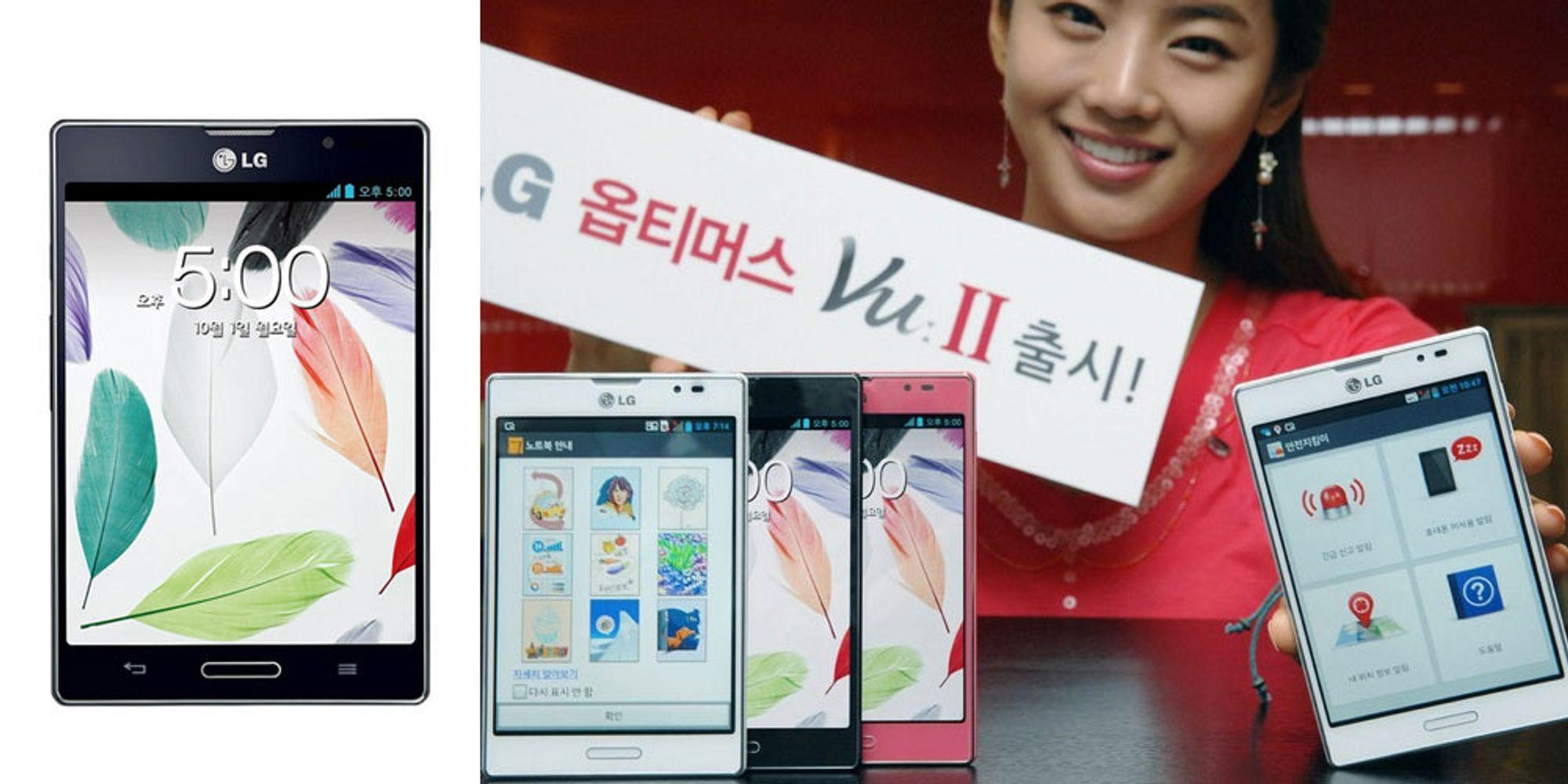 LG har lansert Optimus Vu II