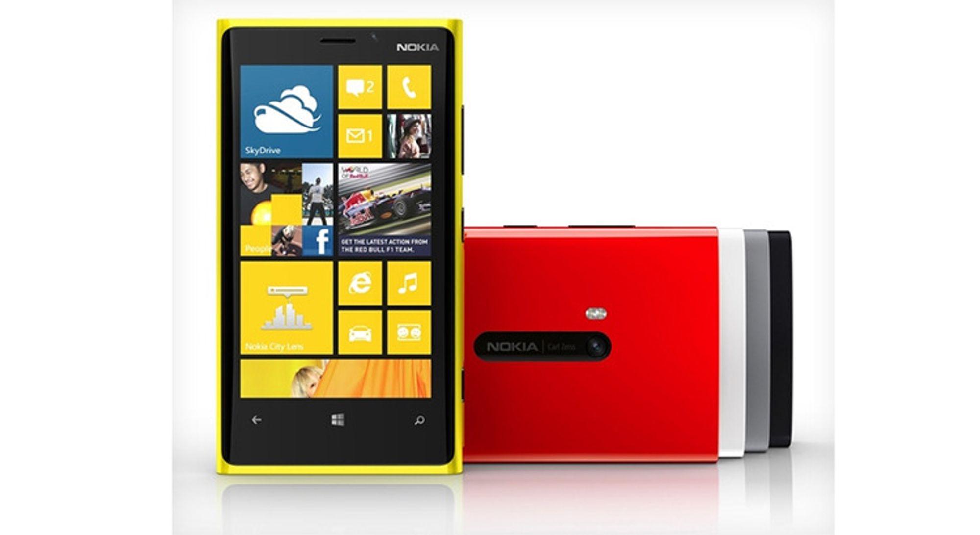 Nokia: - Lumia 920 kommer i Q4