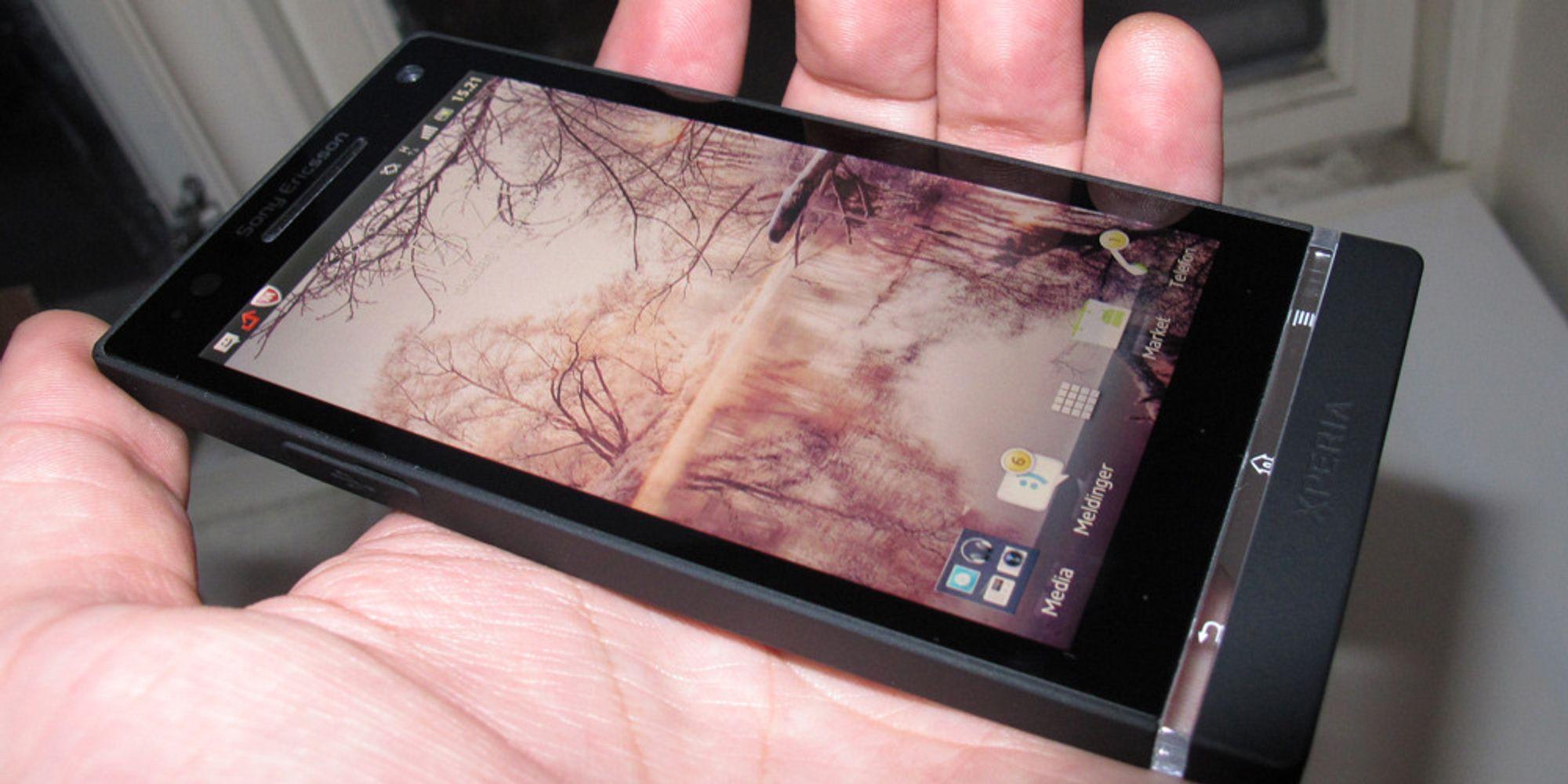 Lyntest av Sony Xperia S