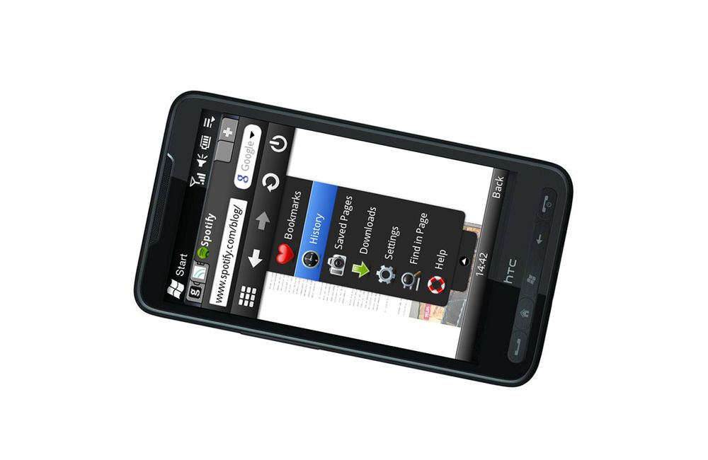 Opera slipper Mini for Windows Mobile