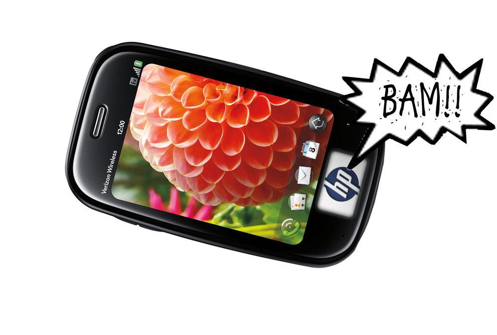 HP kjøper Palm