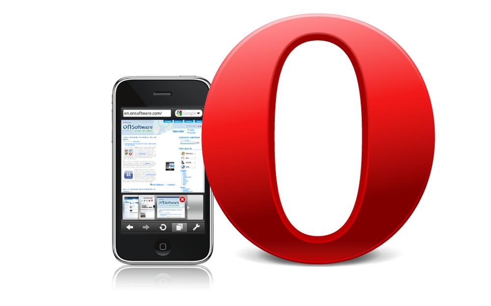 Opera Mini til Iphone