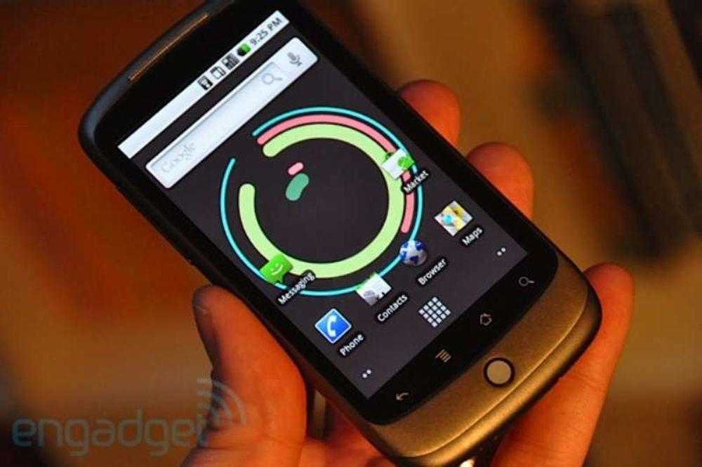 Her er Nexus One-testene