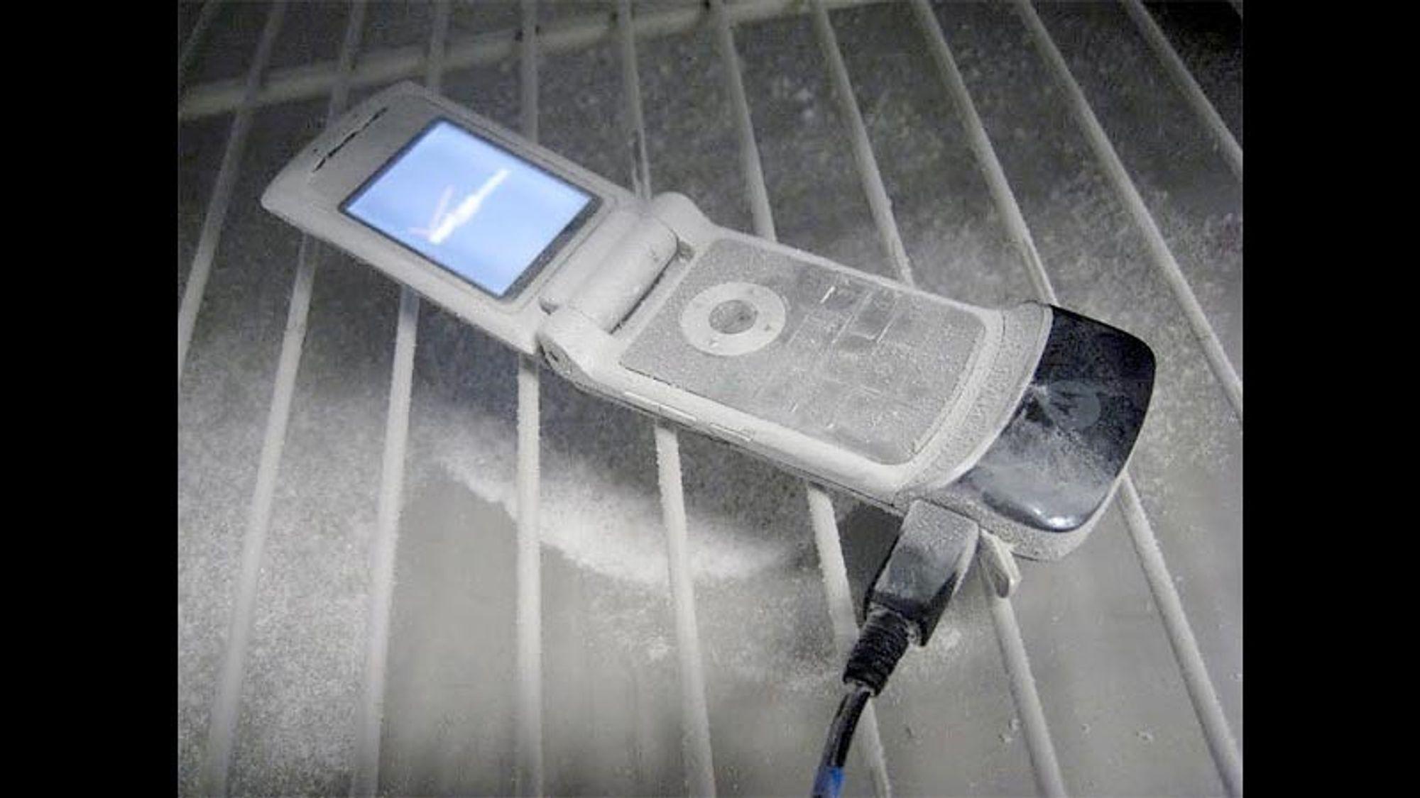 Er telefonen din klar for vinteren?
