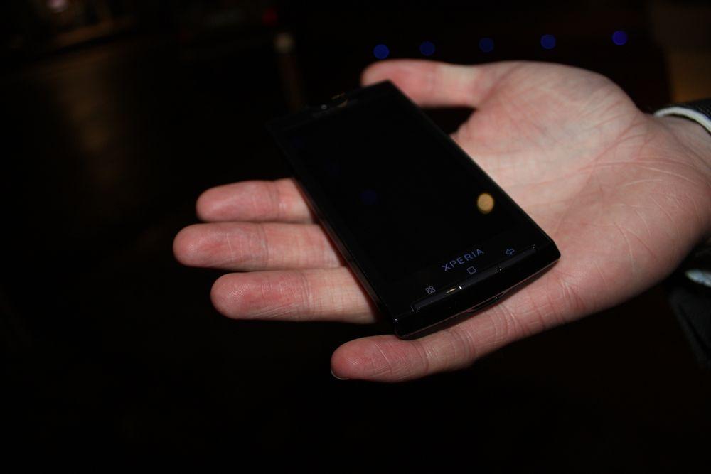 Vi knipset Sony Ericsson X10