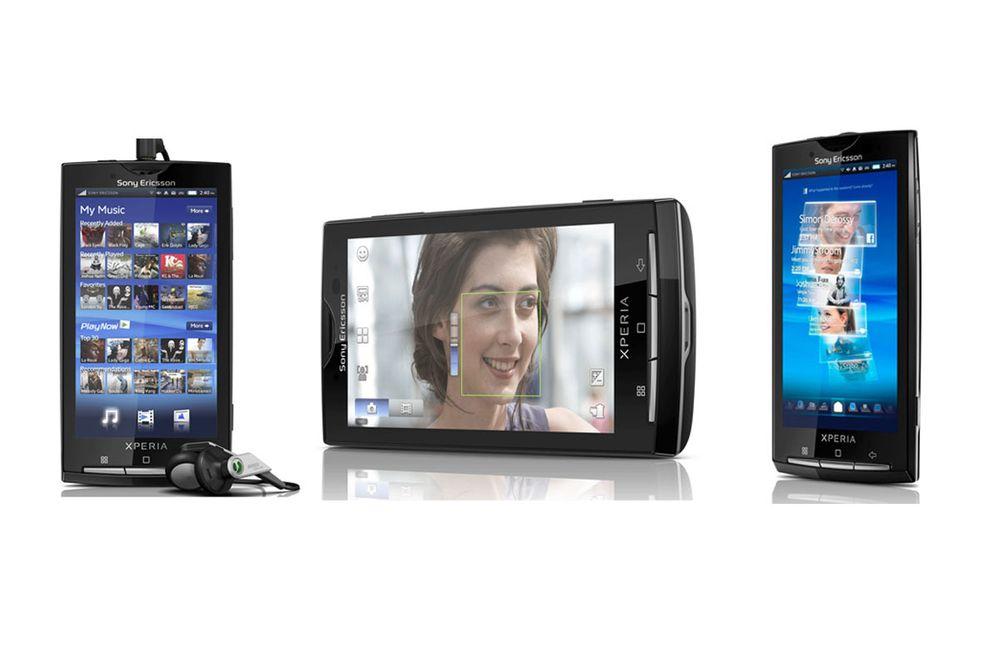 Sjekk ut Sony Ericsson X10