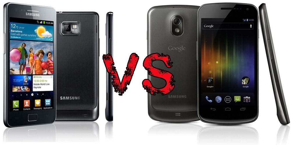 Galaxy Nexus eller Galaxy S II?