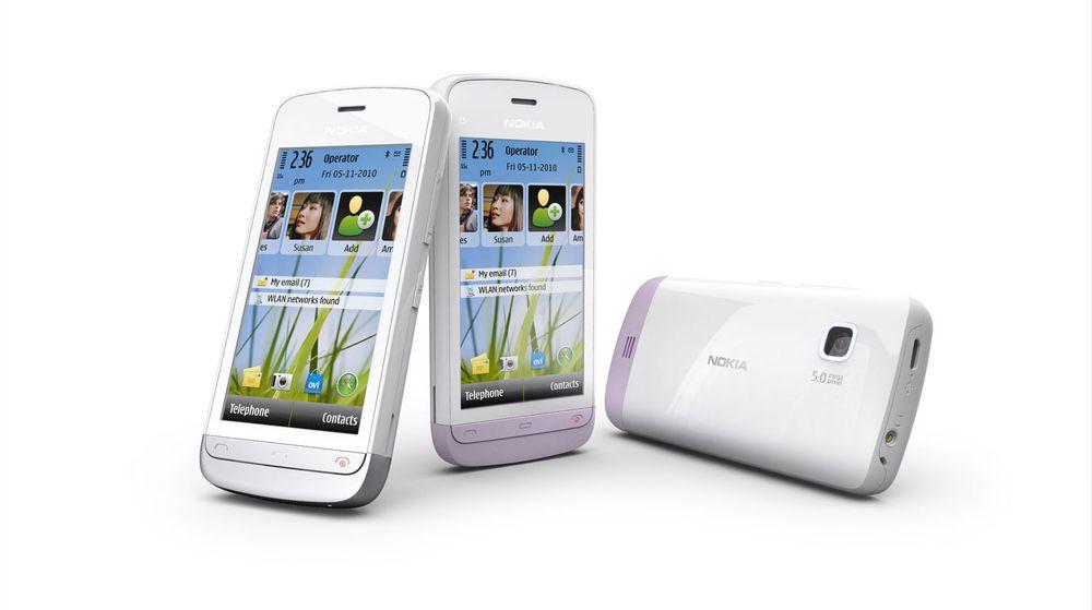 Nokia lanserer ny C5