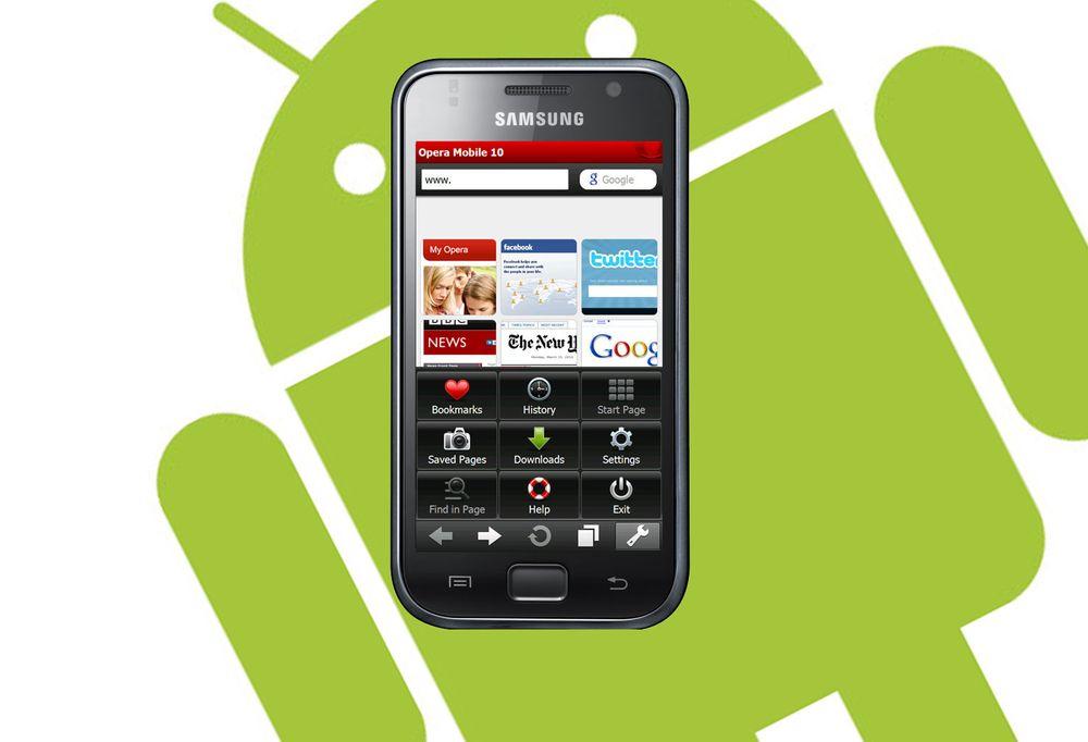 Nå kommer Opera Mobile til Android