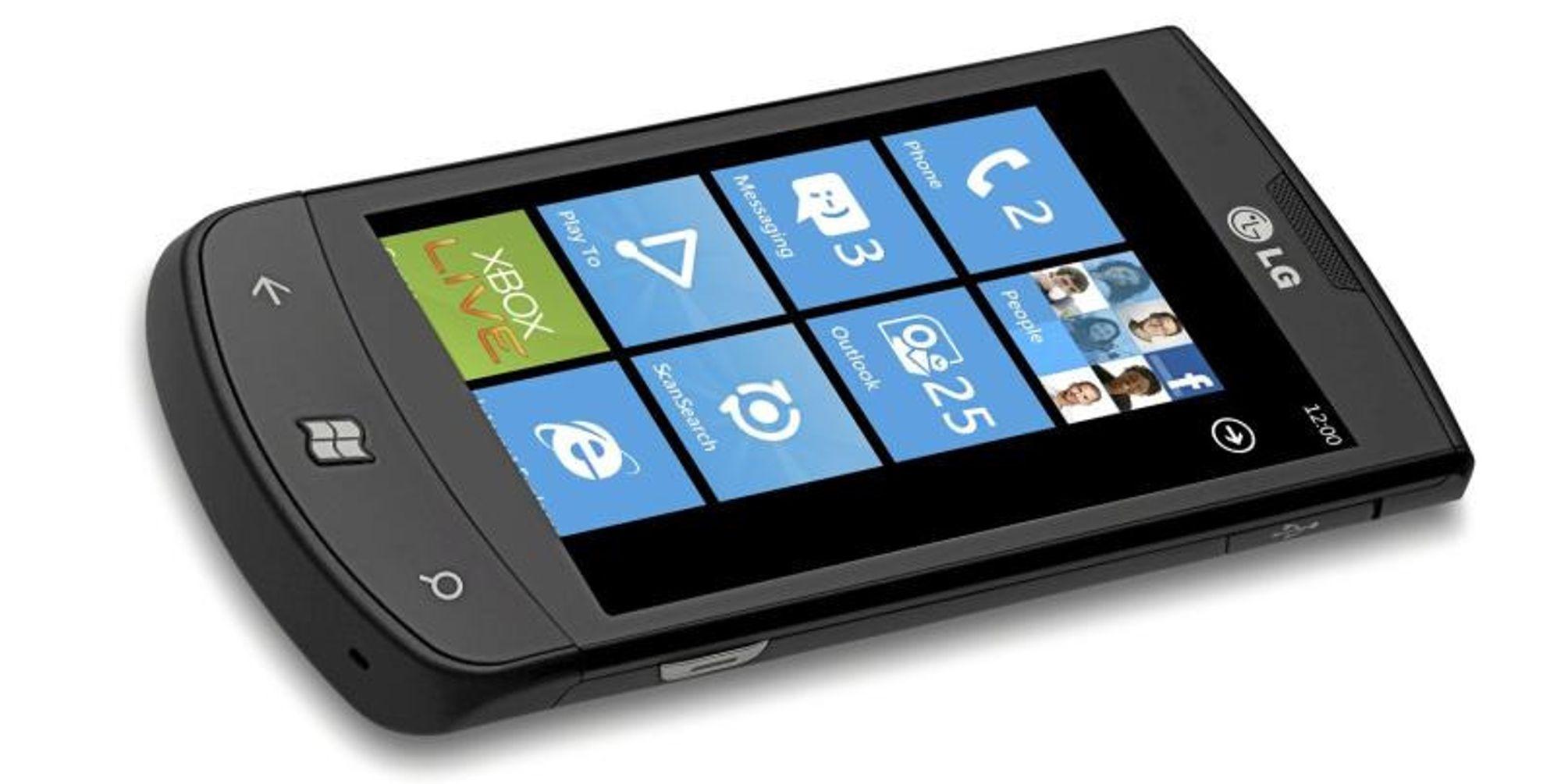 Uvisst når Windows Phone 7 kommer i norsk versjon