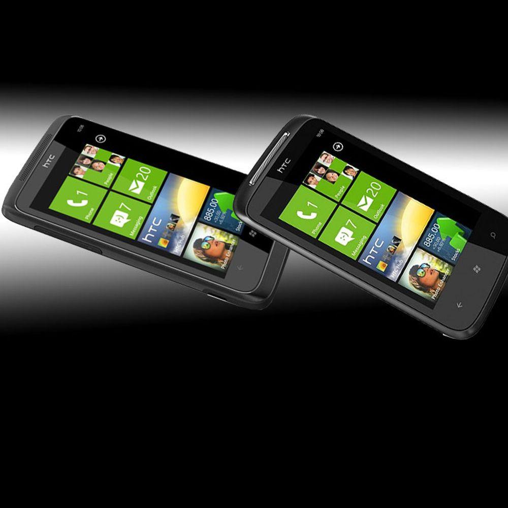 Se video av HTC Mozart og Trophy