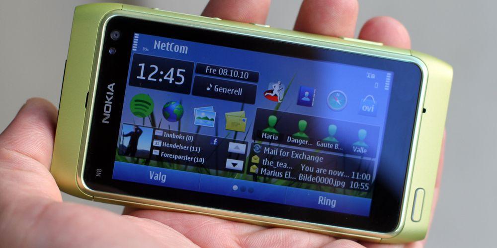 Ett døgn med Nokia N8