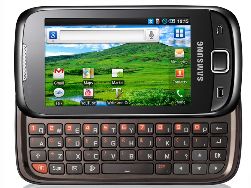 Qwerty-Android fra Samsung