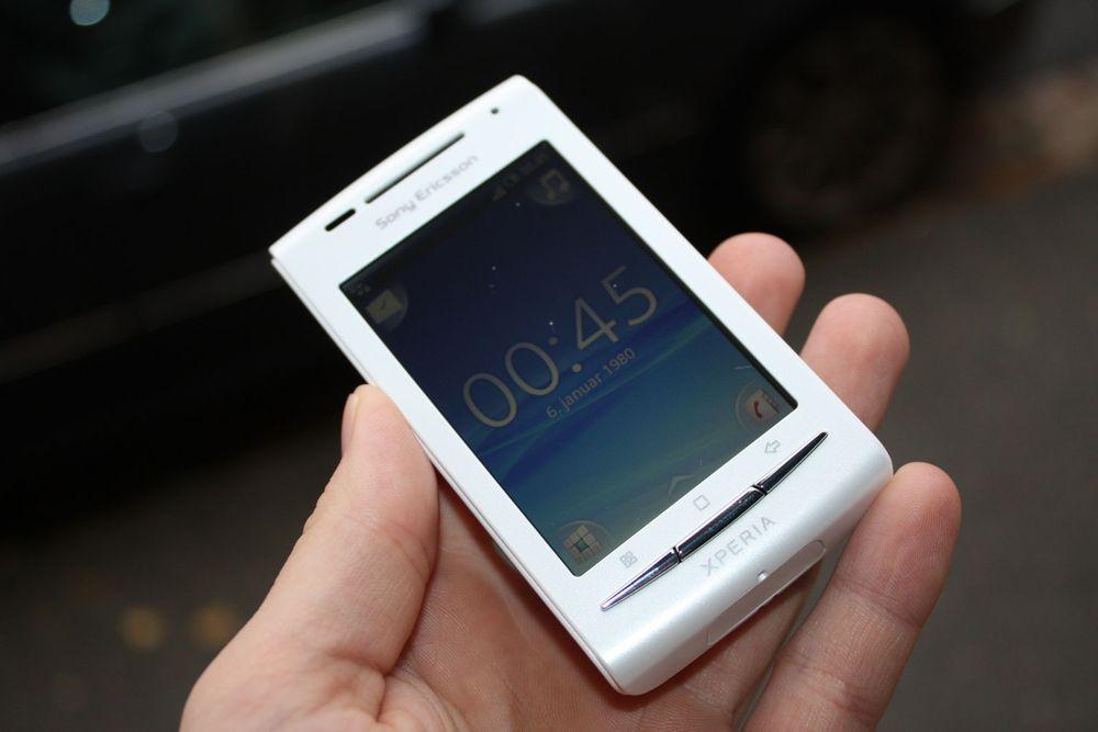 Unboxing av Sony Ericsson X8