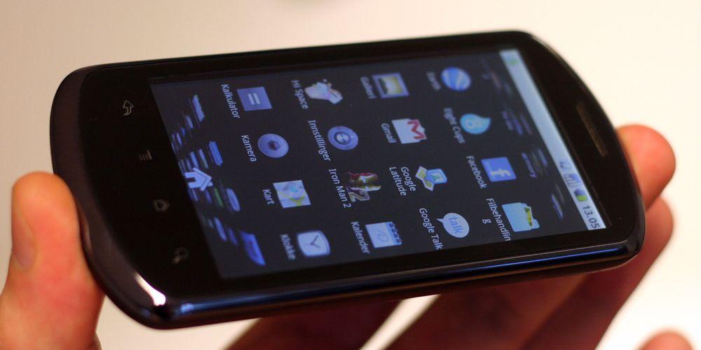 Test av Huawei U8800
