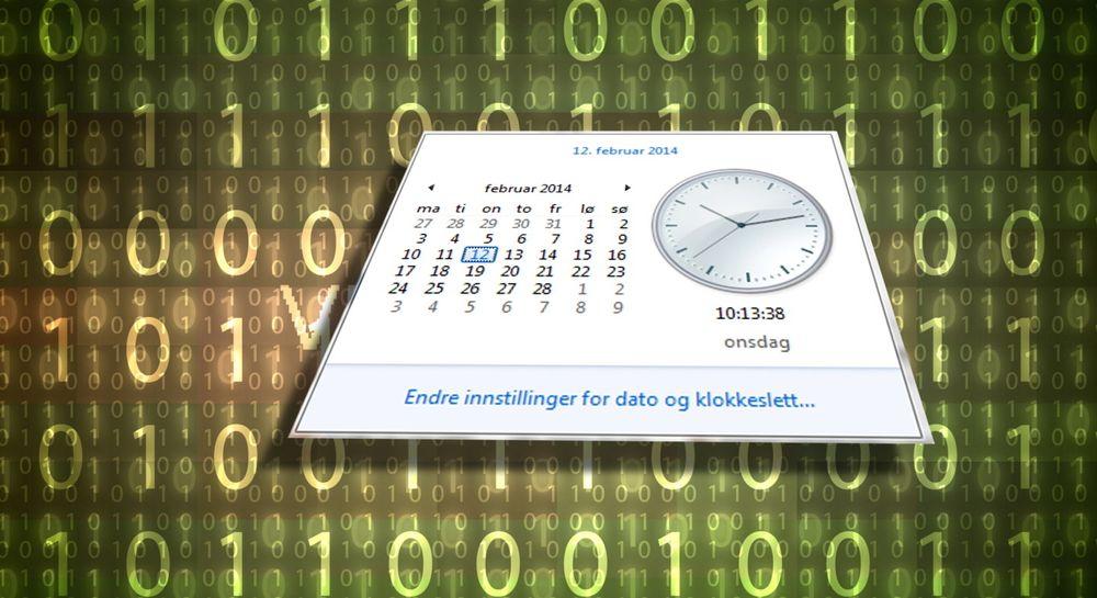 PCer benytter seg av NTP-servere for å synkronisere dato og klokkeslett. Disse serverne ble mandag målet for et kraftig DDoS-angrep.