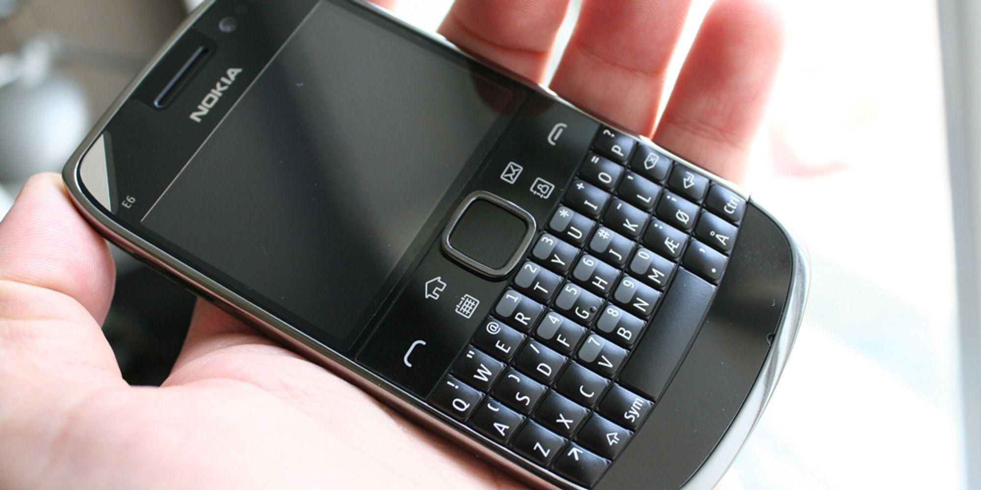 Unboxing av Nokia E6