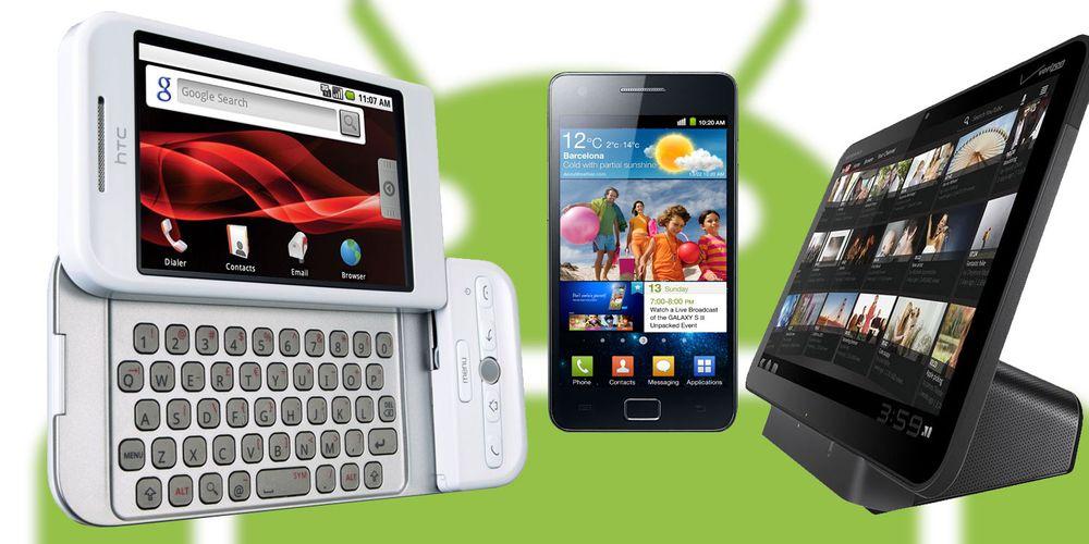 Androids eventyrlige utvikling