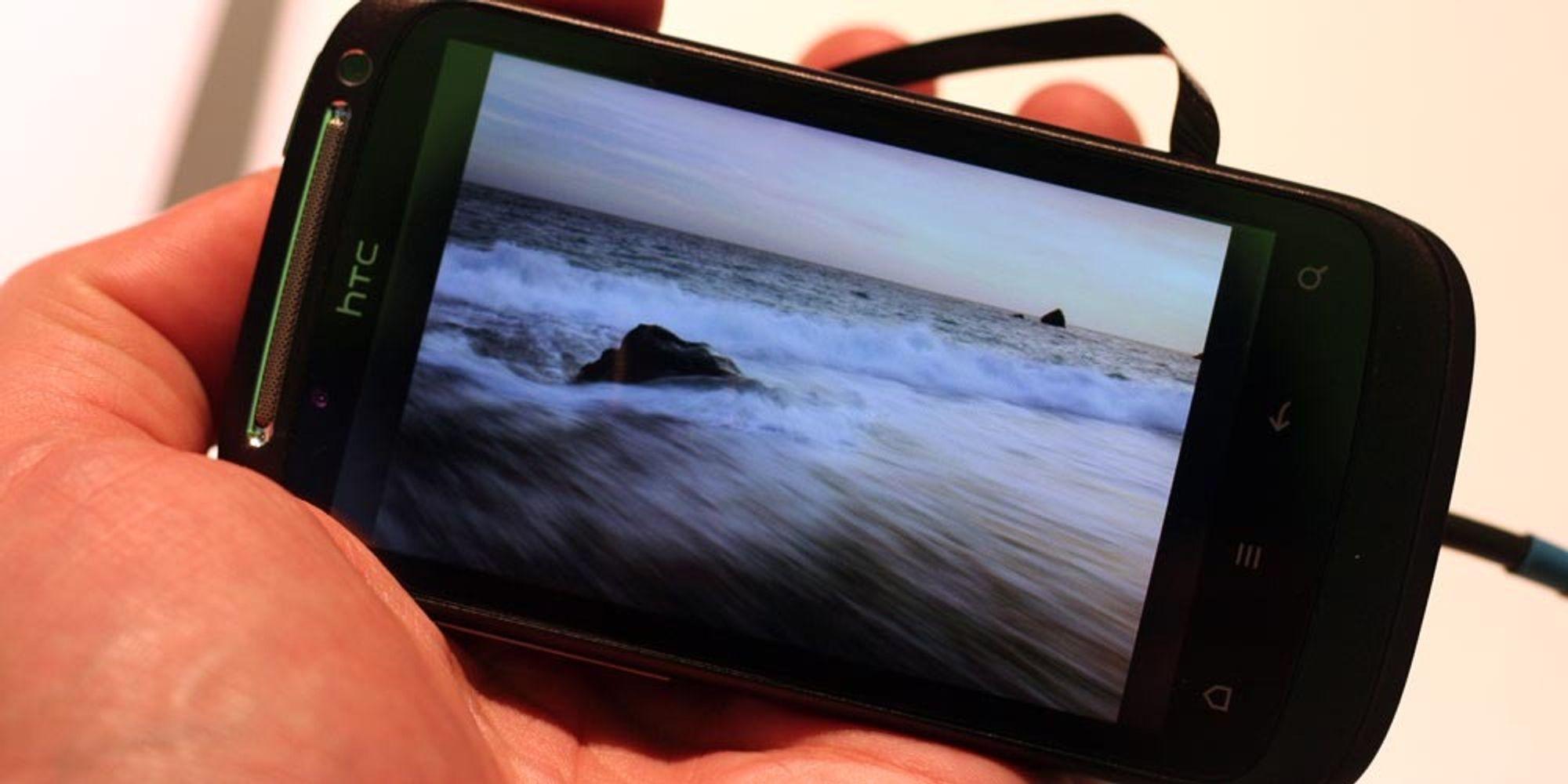 Lyntest av HTC Desire S