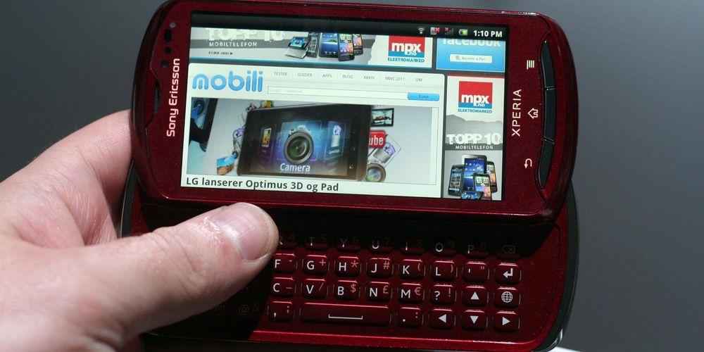 Lyntest: Sony Ericsson Xperia Pro