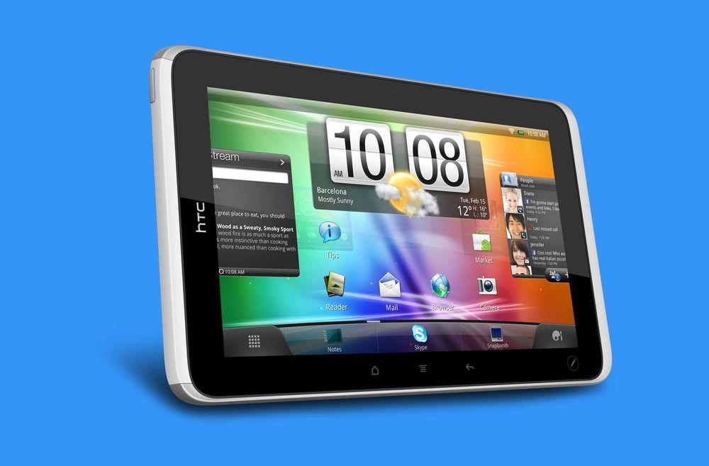 Her er HTCs tablet