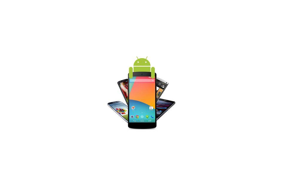 TEST: Slik kommer du i gang med Android