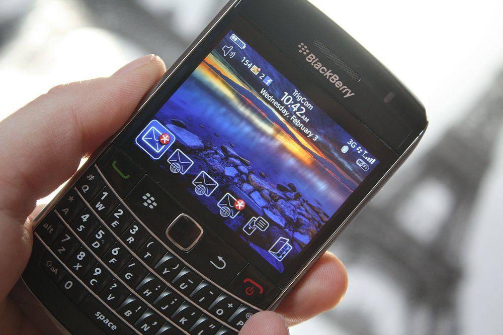 BlackBerry får norske taster