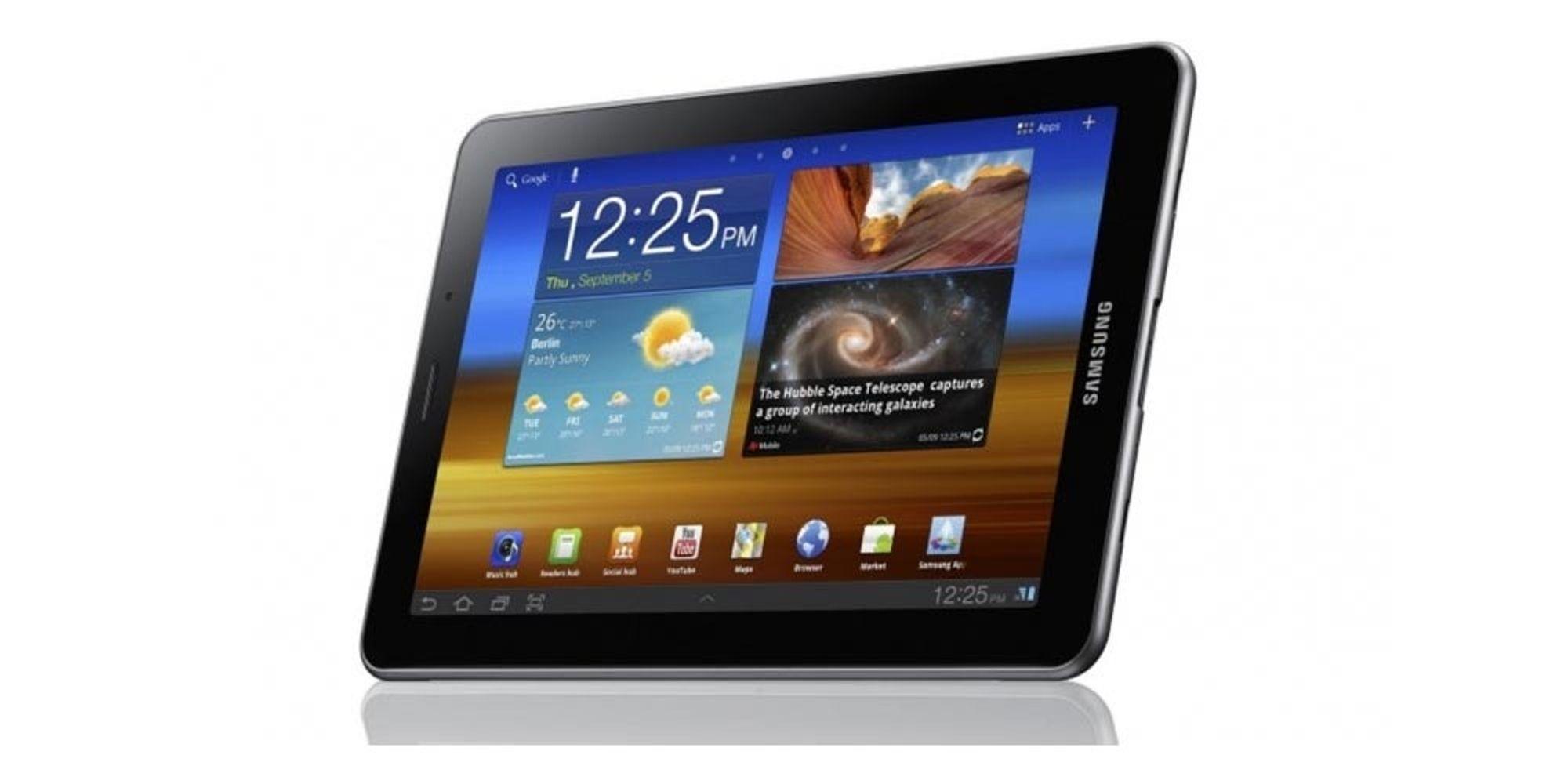Samsung Galaxy Tab 7.7 er rett rundt hjørnet