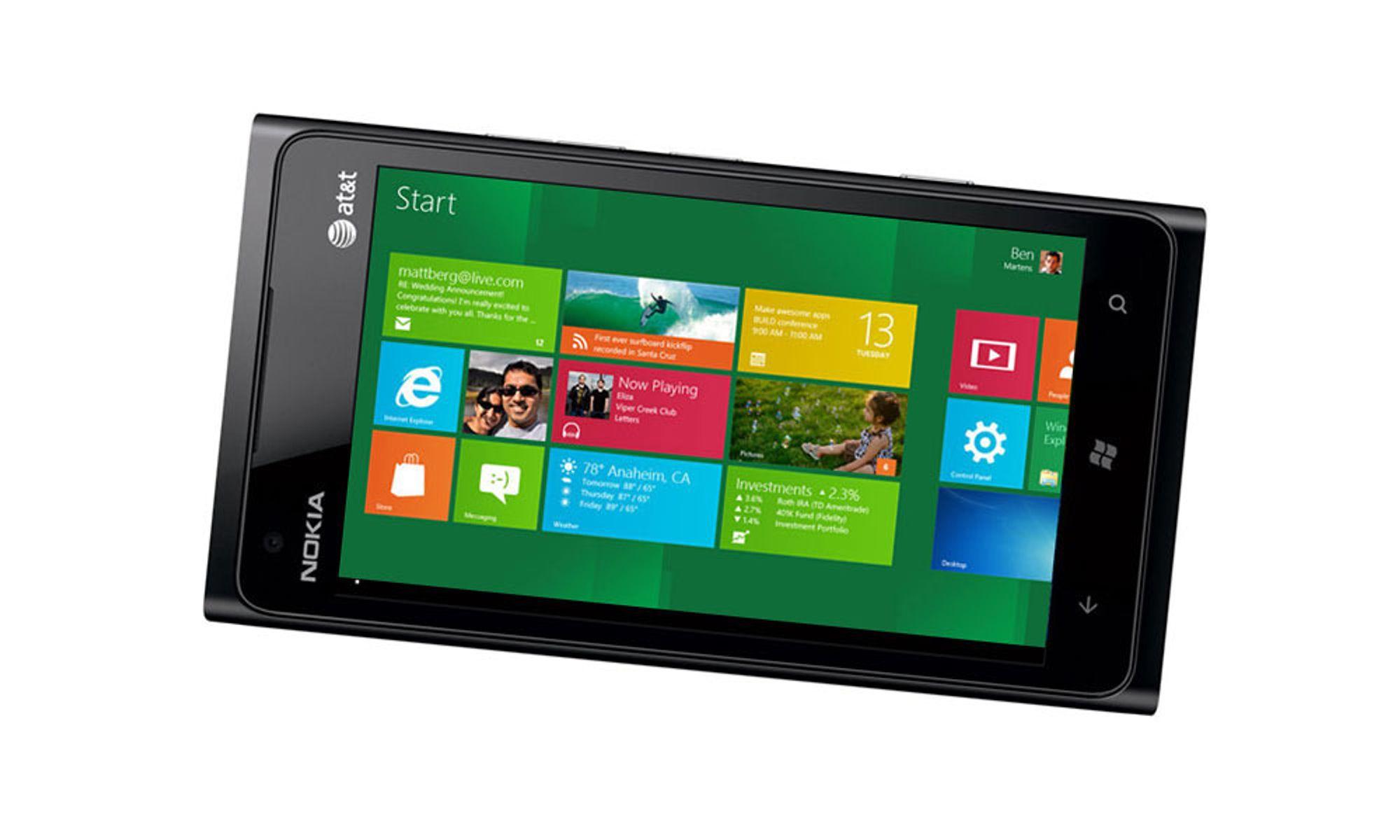 Slik blir Windows Phone 8