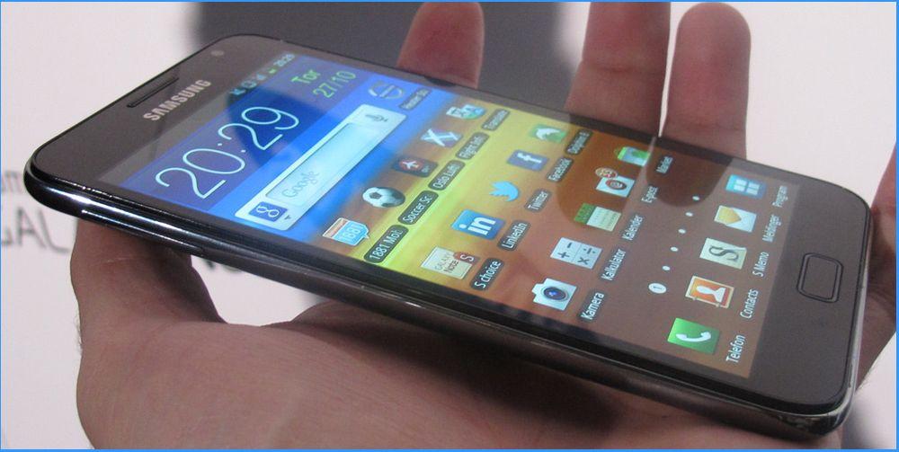 Galaxy S II og Galaxy Note får ICS i mars