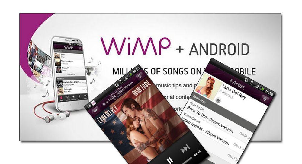 Ny versjon av Wimp ute til Android