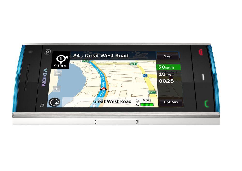 Nokia gjør navigasjon gratis