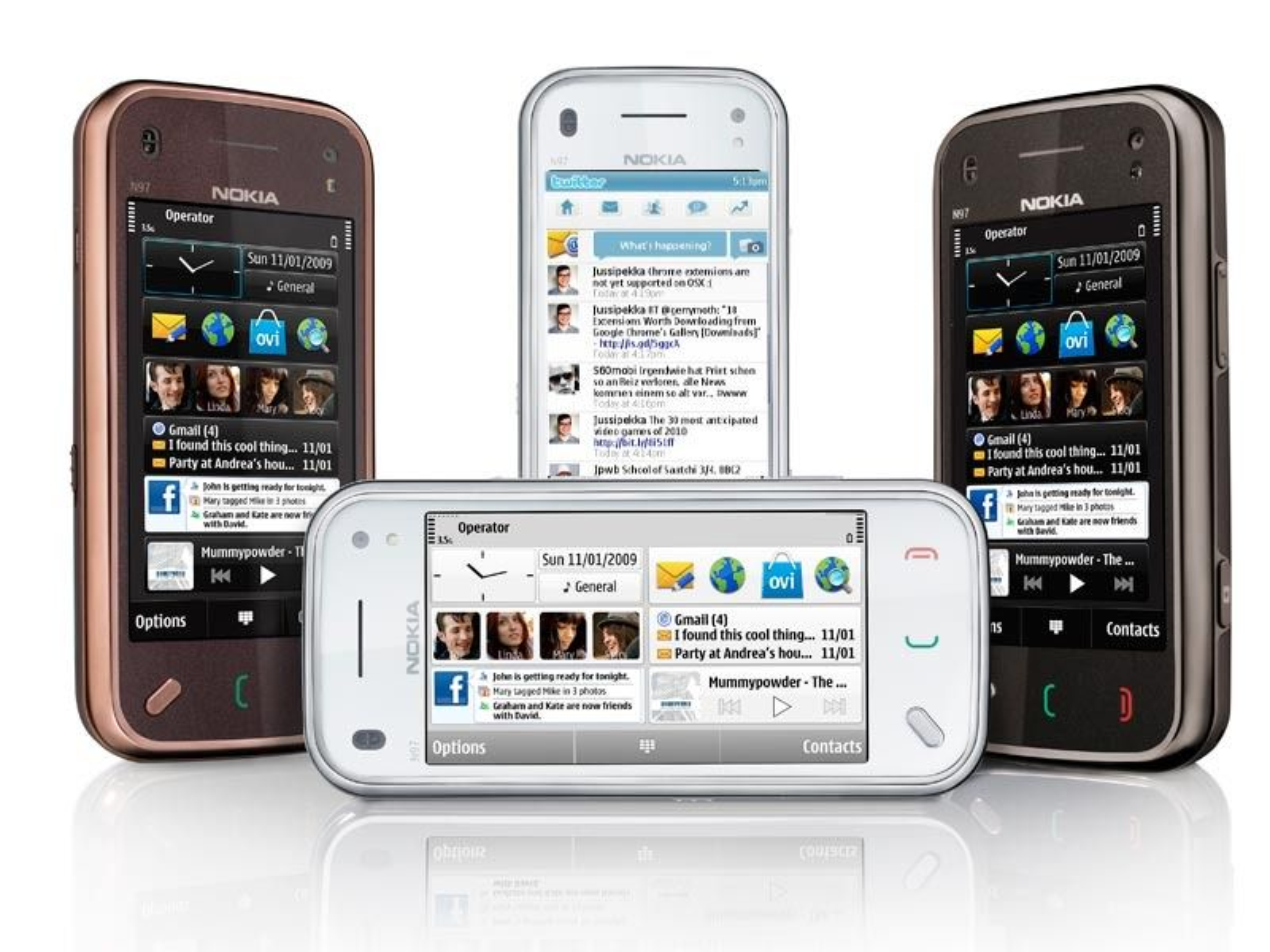 Få lettere tilgang til Facebook og Twitter