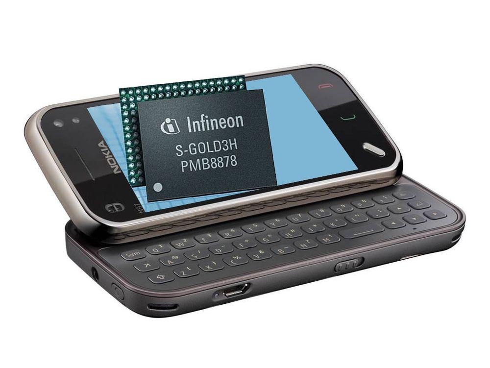 Infineon skal levere 4G til Nokia