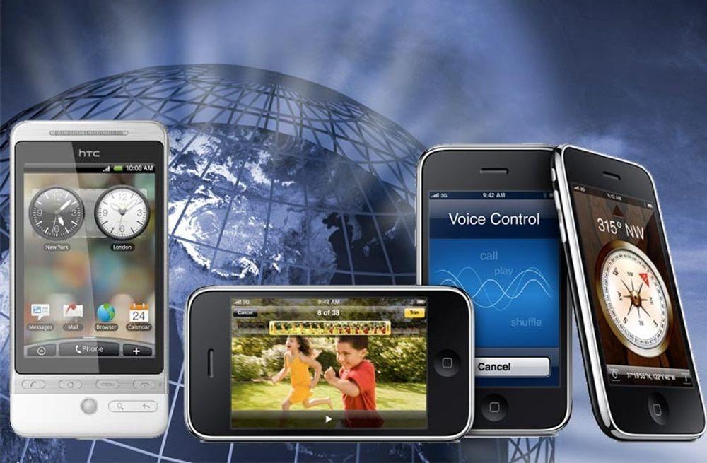 Iphone-eierne er suverene på mobilsurfing