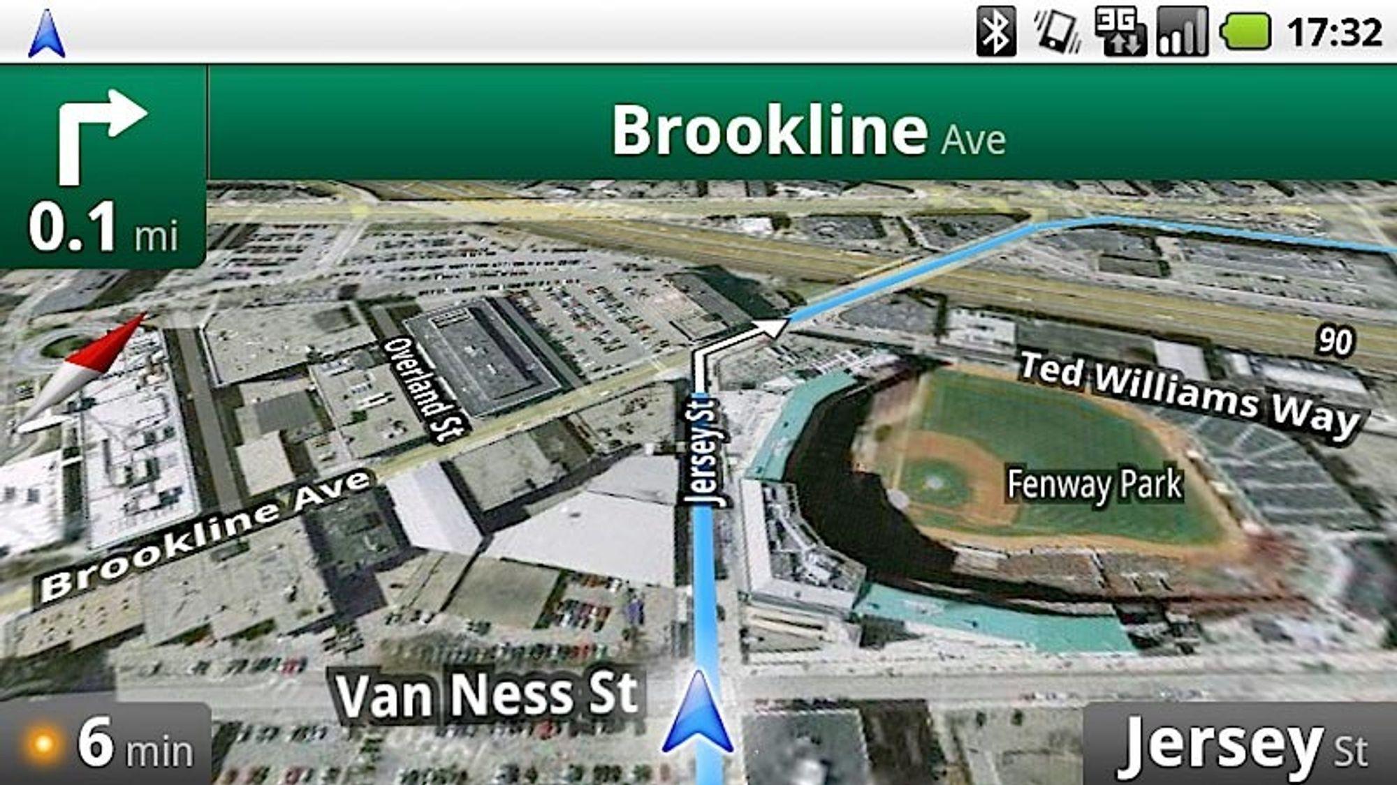 Google Maps Navigation funker på flere Android-telefoner