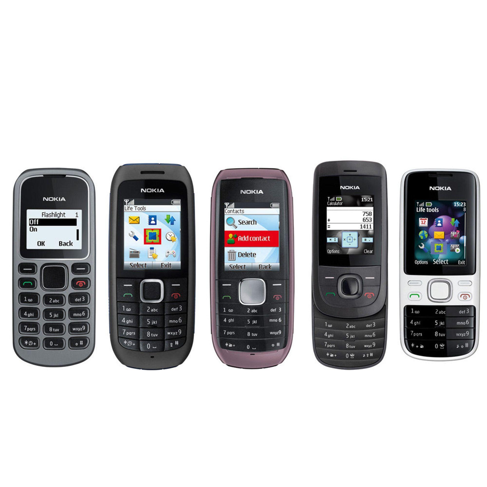 Fem nye fra Nokia