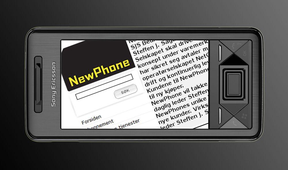Newphone reddet fra konkurs