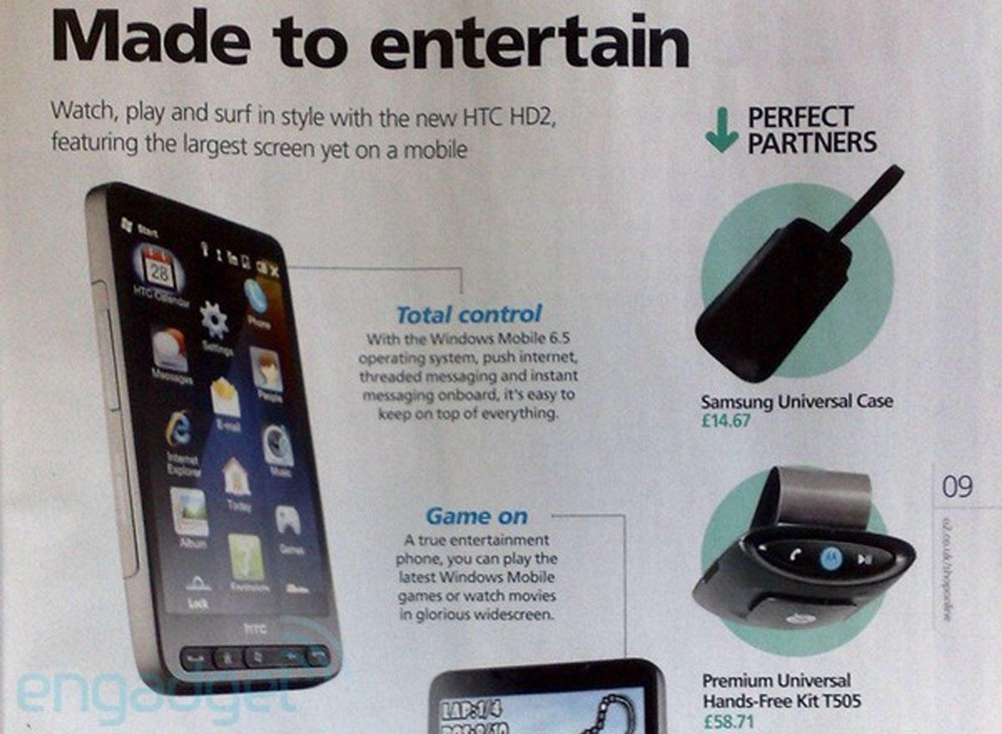 Her er oppfølgeren til HTC Touch HD