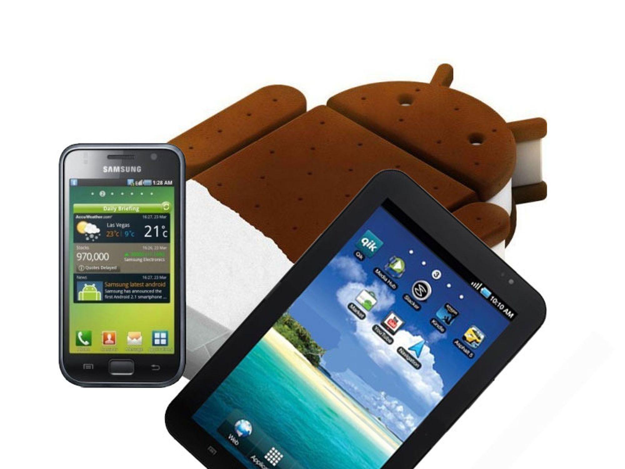 Samsung revurderer Android 4.0 til Galaxy S