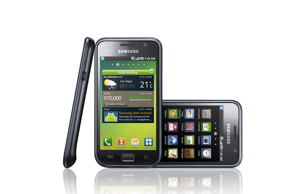Galaxy S gror fast i Gingerbread