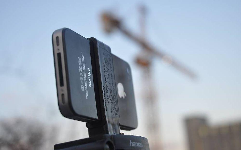 Slik lager du film av stillbilder