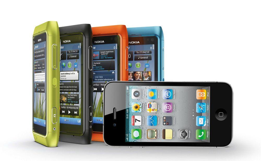 Nokia fortsatt størst og litt til